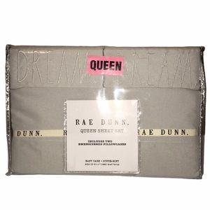 Rae Dunn DREAM Queen Sheet Set